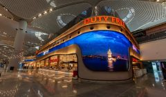 Istanbuel Airport pantallas led