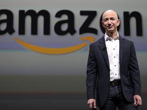 Jeff Bezos amazon - Acciones de Amazon baten récord en Wall Street