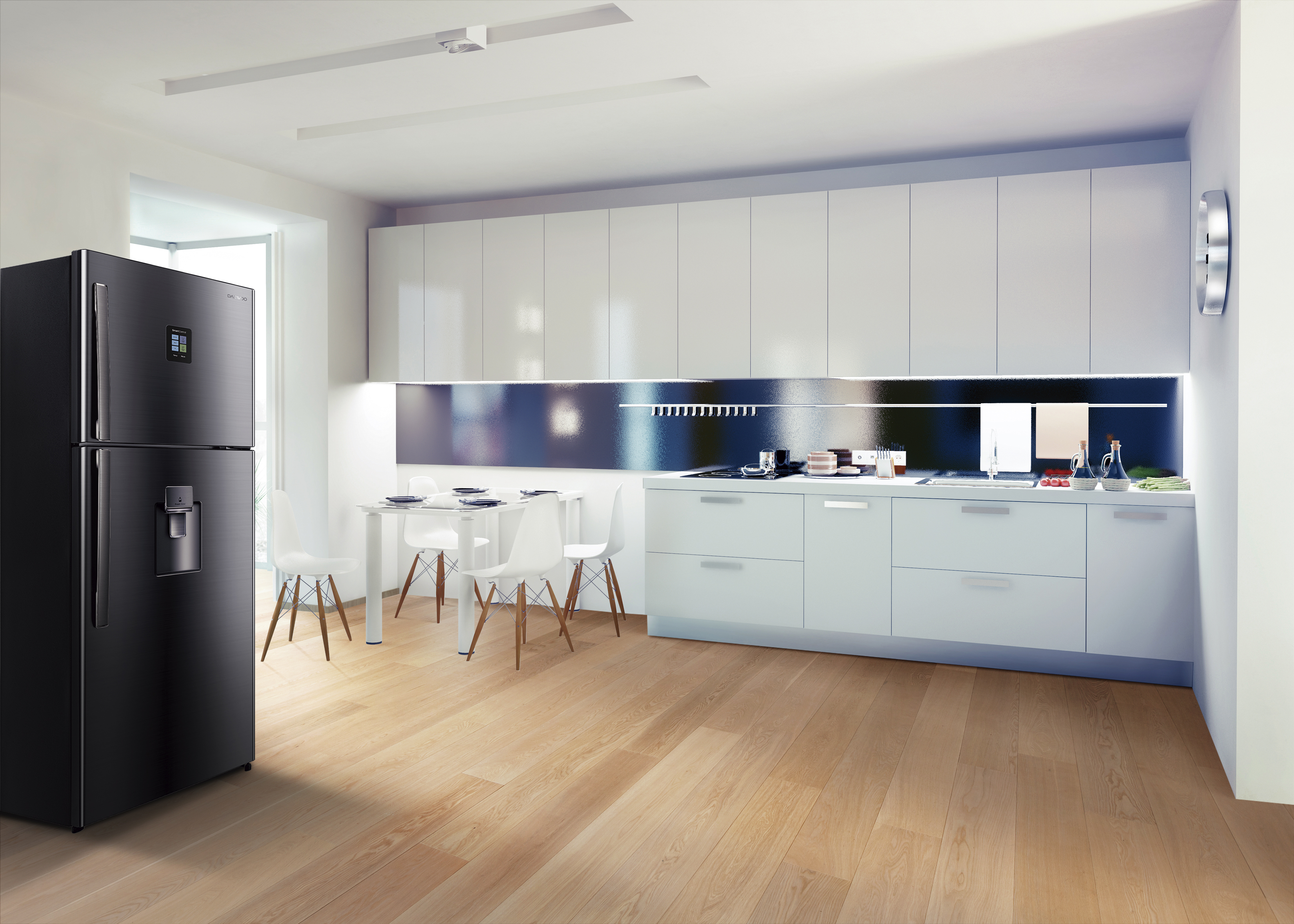 Jet Black Series Altas - Daewoo ofrece distinción y estética en nueva línea de electrodomésticos