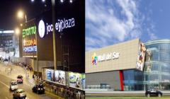 Jockey Plaza y Mall del Sur