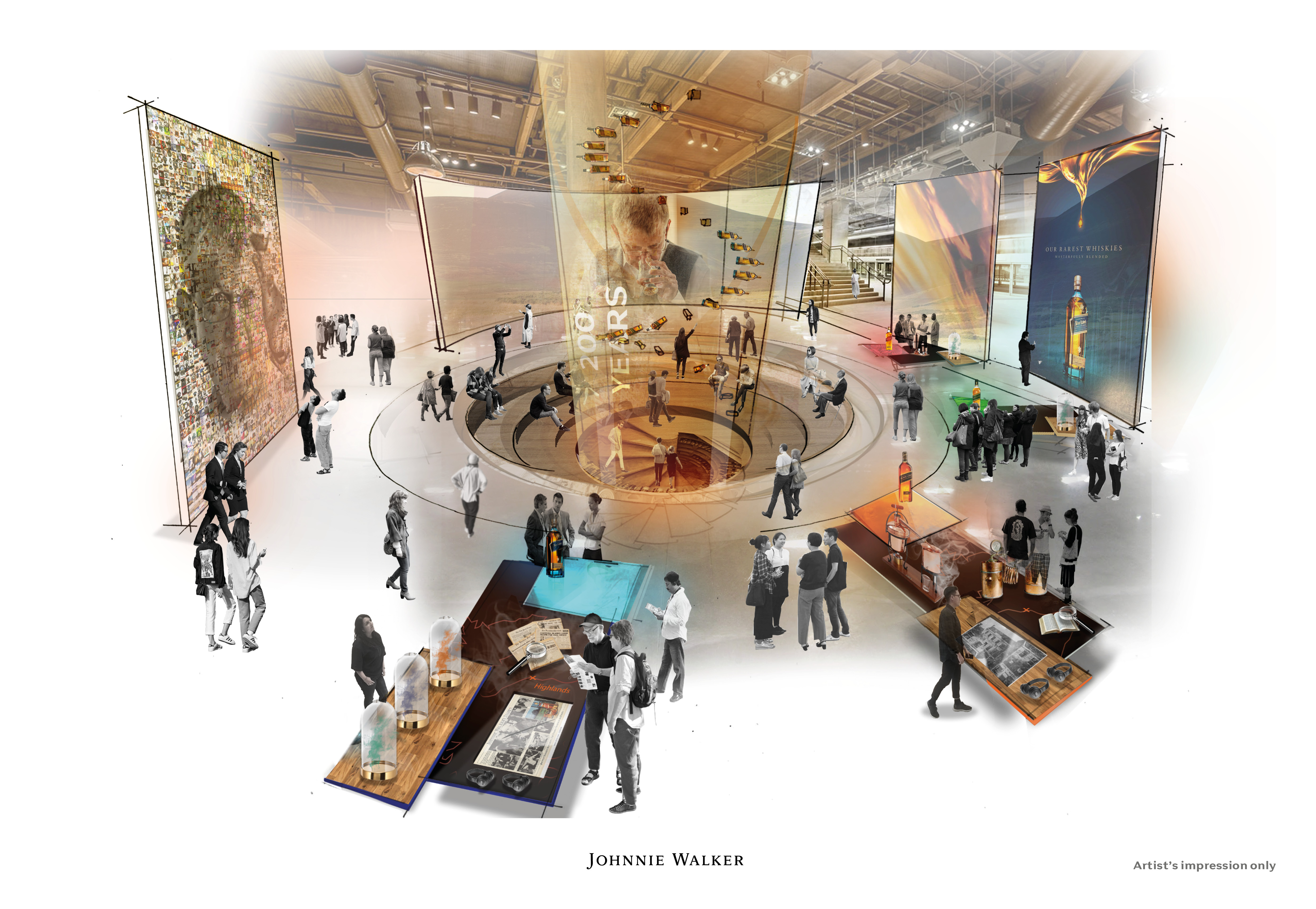 Johnnie Walker 2 - Johnnie Walker invertirá USD $210 millones para remodelar 12 destilerías en Escocia