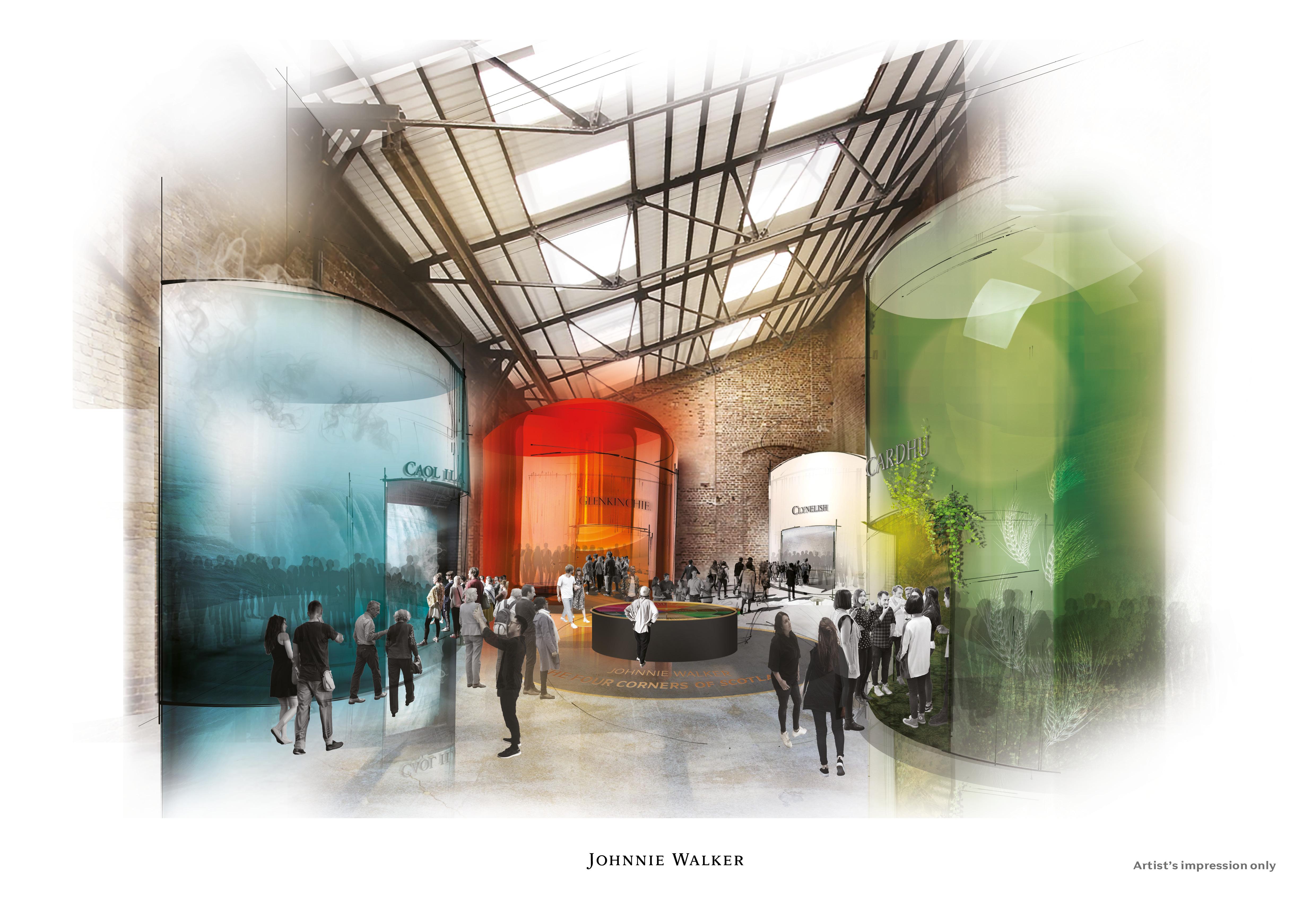 Johnnie Walker 3 - Johnnie Walker invertirá USD $210 millones para remodelar 12 destilerías en Escocia