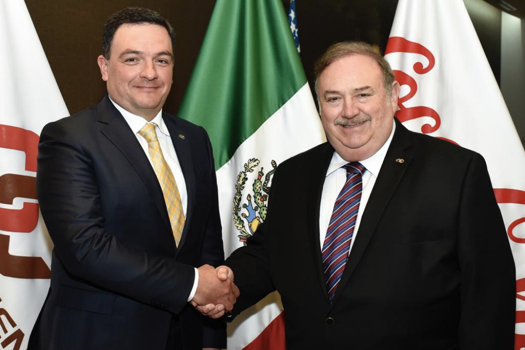 Jorge Santos Reyna y Manuel L. Barragán Morales - Arca Continental tiene nuevo presidente de su Consejo de Administración