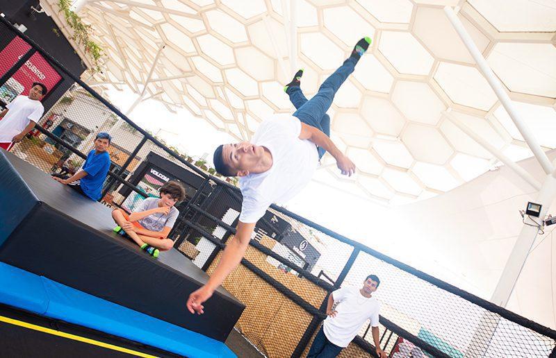 Jump Spot 1 - El parque de trampolines para niños, jóvenes y adultos llega al Mall del Sur