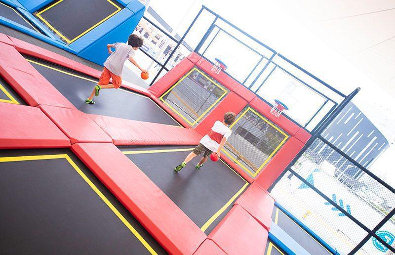 Jump Spot - El parque de trampolines para niños, jóvenes y adultos llega al Mall del Sur