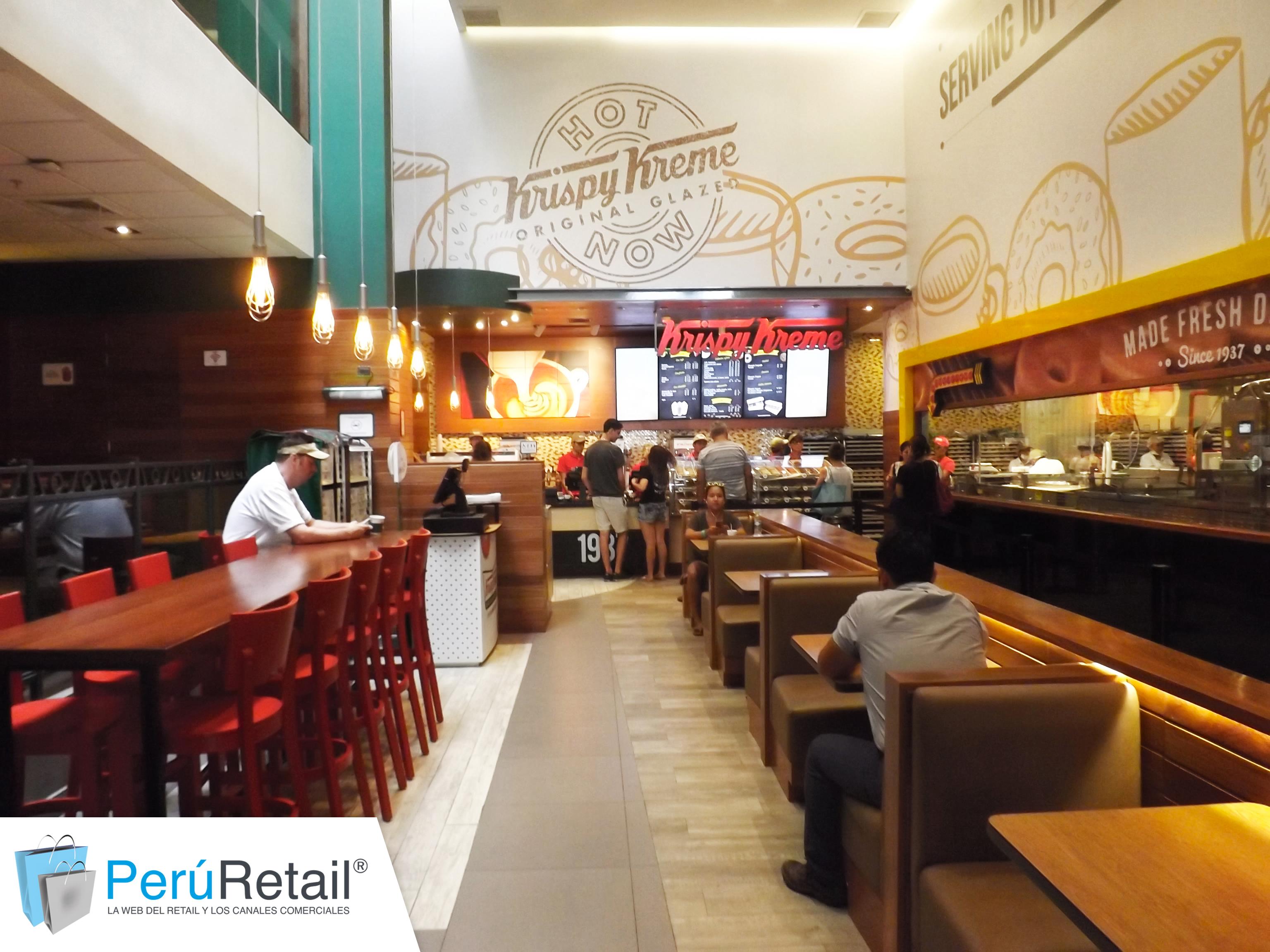 Krispy Kreme 0016 - Krispy Kreme podría llegar a Chile y competiría con Dunkin' Donuts