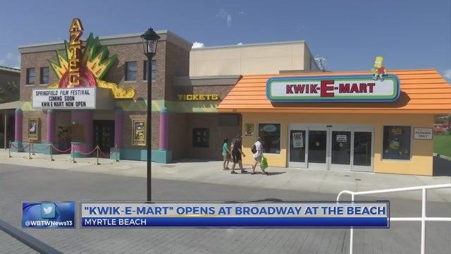 Kwik E Mart from  The Simpson - Estados Unidos: La tienda de Los Simpson llega al retail físico