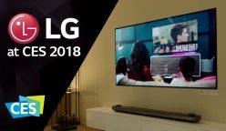 LG CES 2018 248x144 - LG destaca en el CES 2018 al ganar más de 90 premios