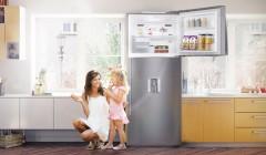 LG presenta nuevas refrigeradoras TOP FREEZER 240x140 - LG refuerza su presencia en Perú con nuevas lavadoras y refrigeradoras