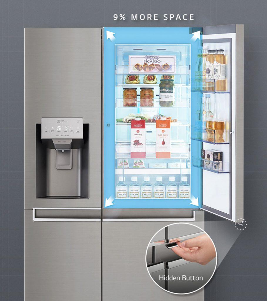 LG refrigerador Fuente kotsovolos.gr  909x1024 - LG desarrolla refrigeradoras inteligentes