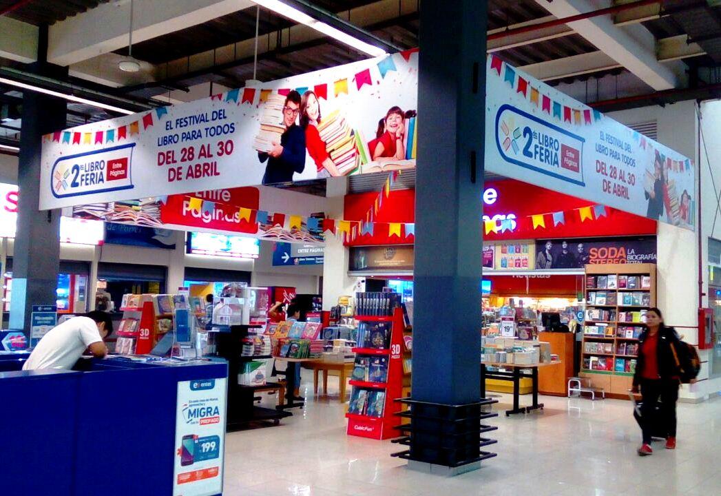 LIBRERÍA ENTRE PÁGINAS 2 - Feria de librería Entre Páginas se llevará a cabo en Plaza Norte y Mall del Sur