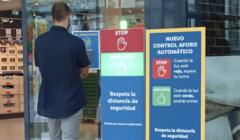 LIDL Sistema automático de control de aforo en tienda