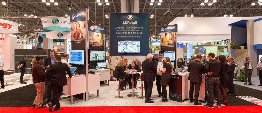 LS retail at NRF New York - NRF 2018: Las tiendas físicas invertirán en un buen servicio inalámbrico
