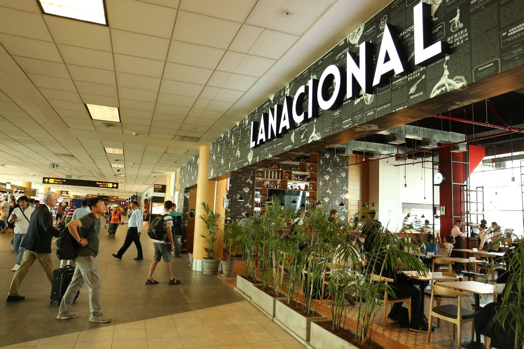 La Nacional Aeropuerto 2 - Aeropuerto Internacional Jorge Chávez suma nueva oferta gastronómica