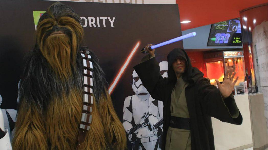 Larcomar Star Wars 2 - Larcomar vivió la fiebre del estreno de Star Wars