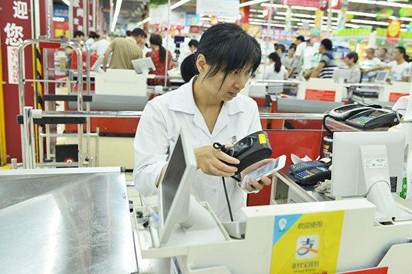 Las plataformas de pago en linea se expande en China