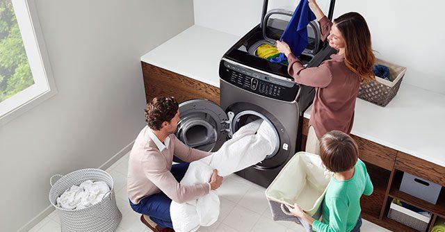 Lavadora inteligente de Samsung 2