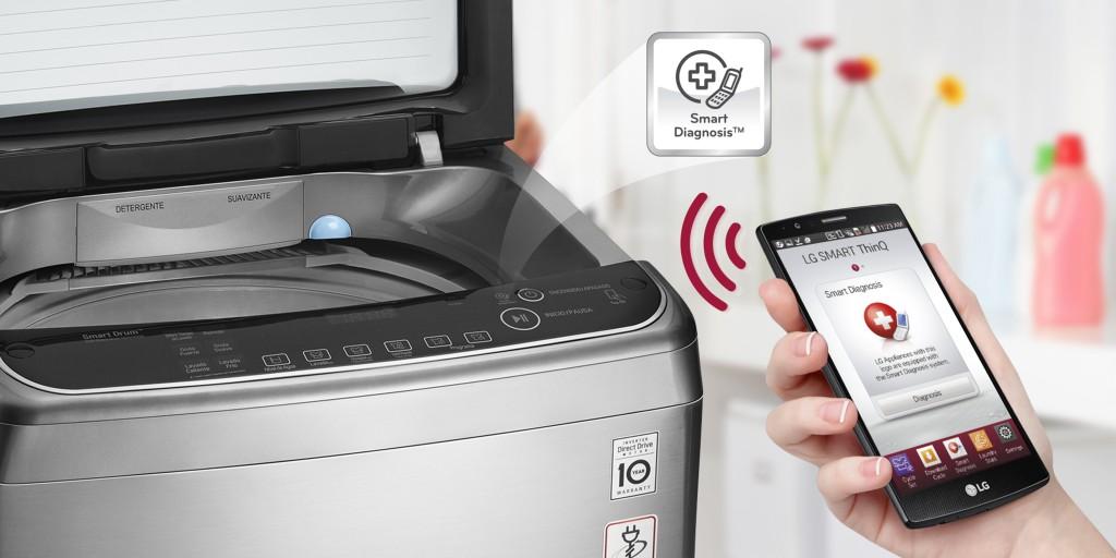 Lavadoras con tecnología Smart Diagnosis contribuyen con el ahorro de tiempo y dinero del usuario