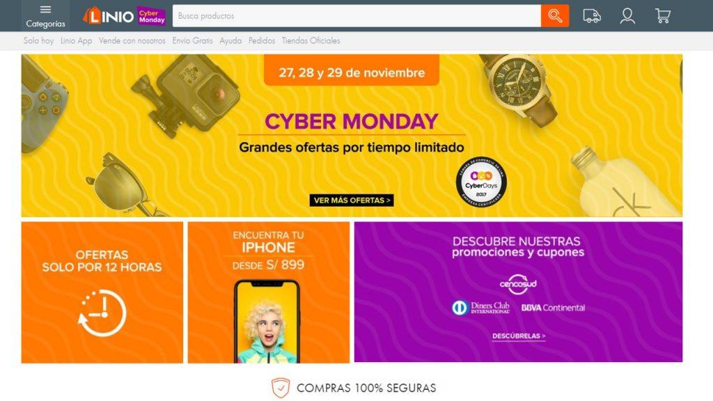 Linio Print 1024x576 - ¿Qué es lo más vendido en los Cyber Days en el Perú?