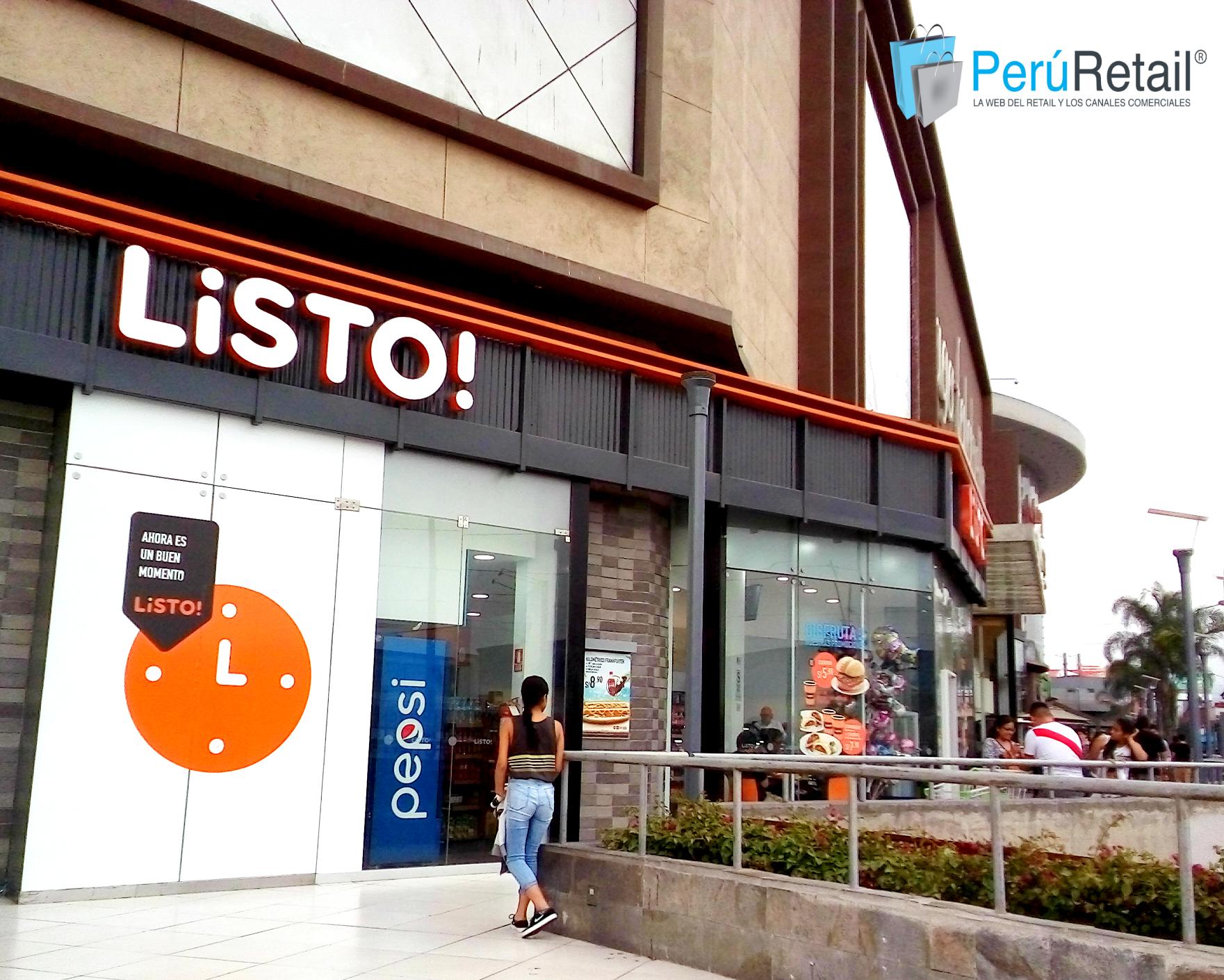 Listo MA Sta Anita 2 Peru Retail - Listo! abre tienda de conveniencia en centro comercial de Lima