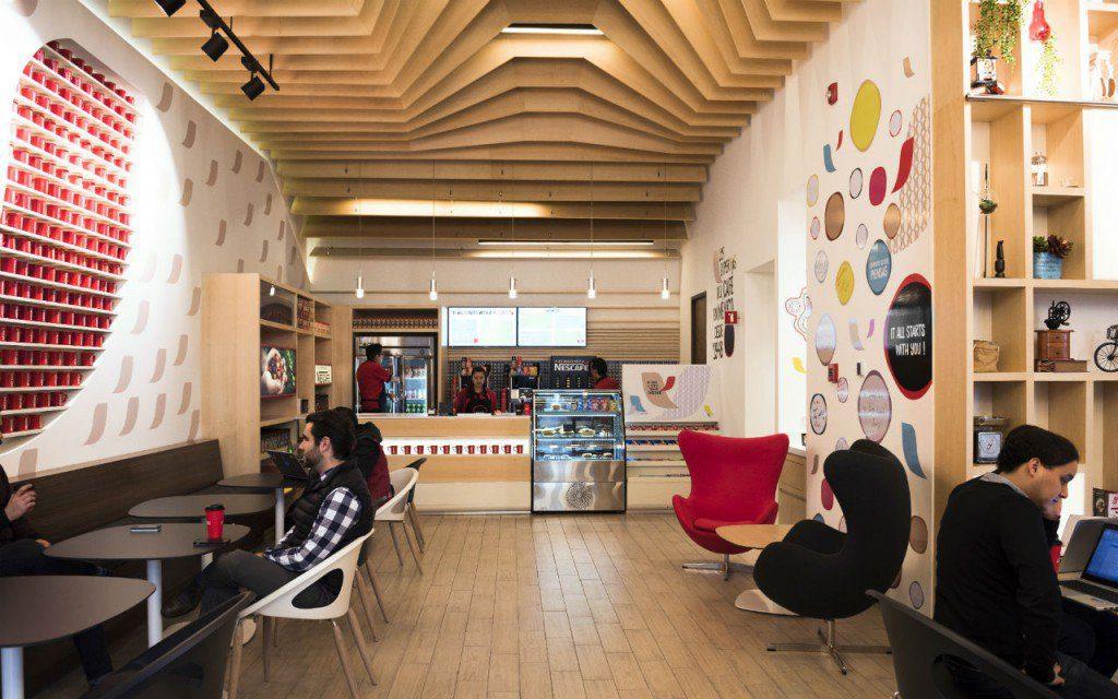 Local de Nescafé en México