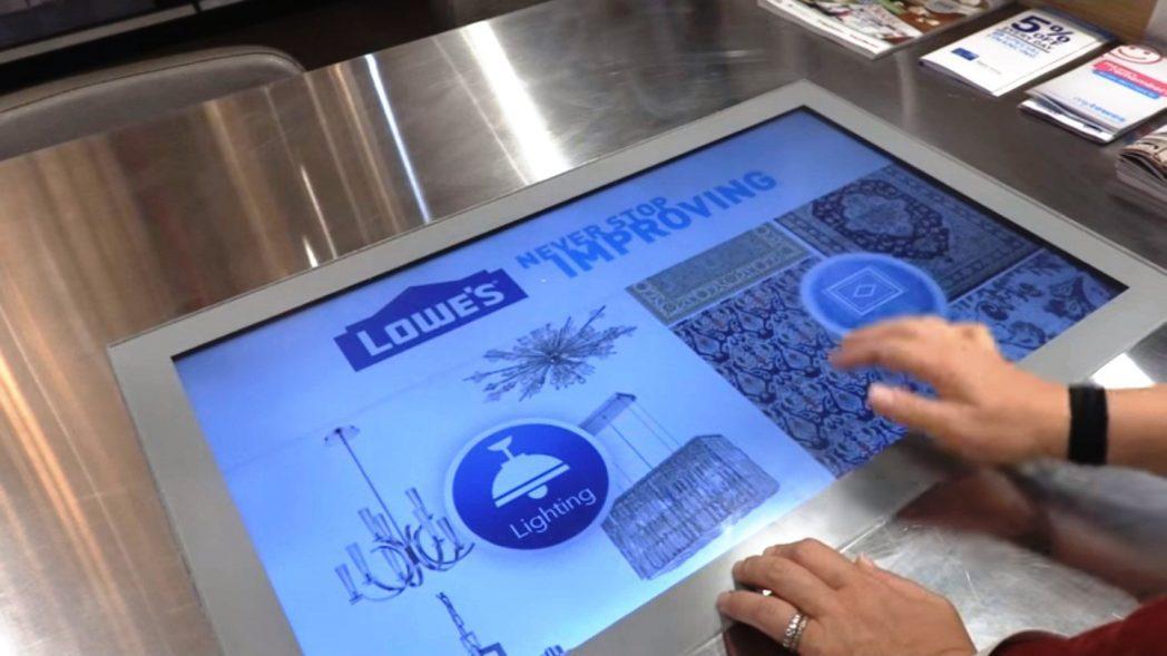 Lowes experiencia digital 2 - Lowe's presenta transformación de su tienda física y virtual en el NRF 2016