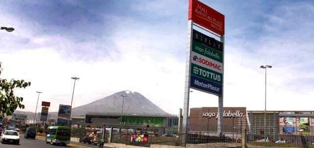 mall aventura plaza arequipa