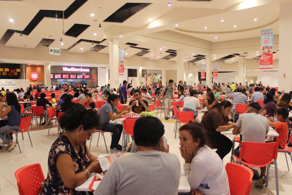 MEDITERRANEO PATIO DE COMIDAS 1024x683 - Plaza Norte y Mall del Sur facturarían más de S/ 2 mil millones de soles entre ambos en Perú