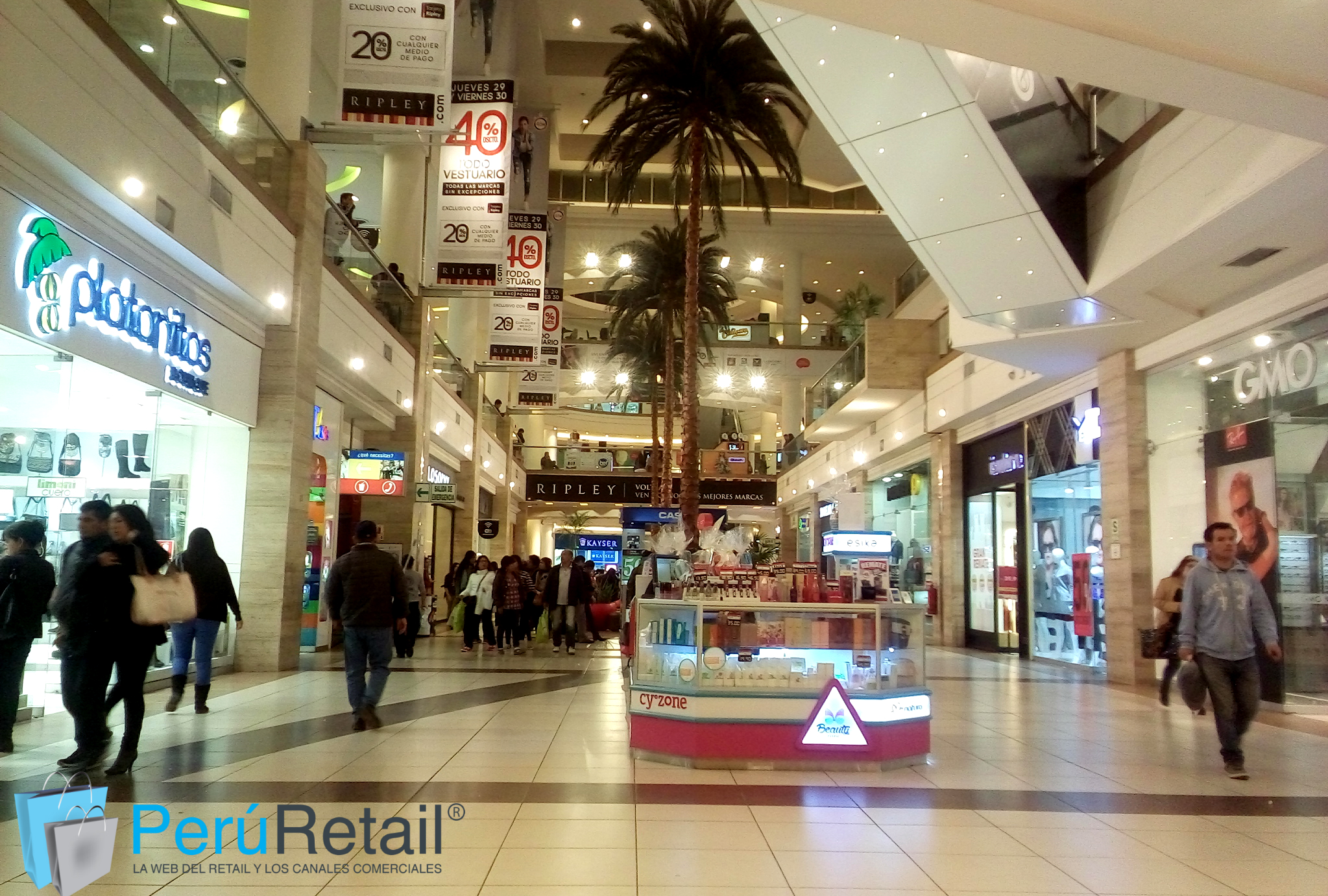 Per 250 Mall Aventura Inaugurar 225 Tres Centros Comerciales