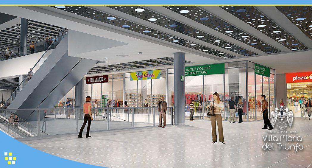 Mall VMT3 - Villa María del Triunfo tendrá primer mall valorizado en US$ 50 millones