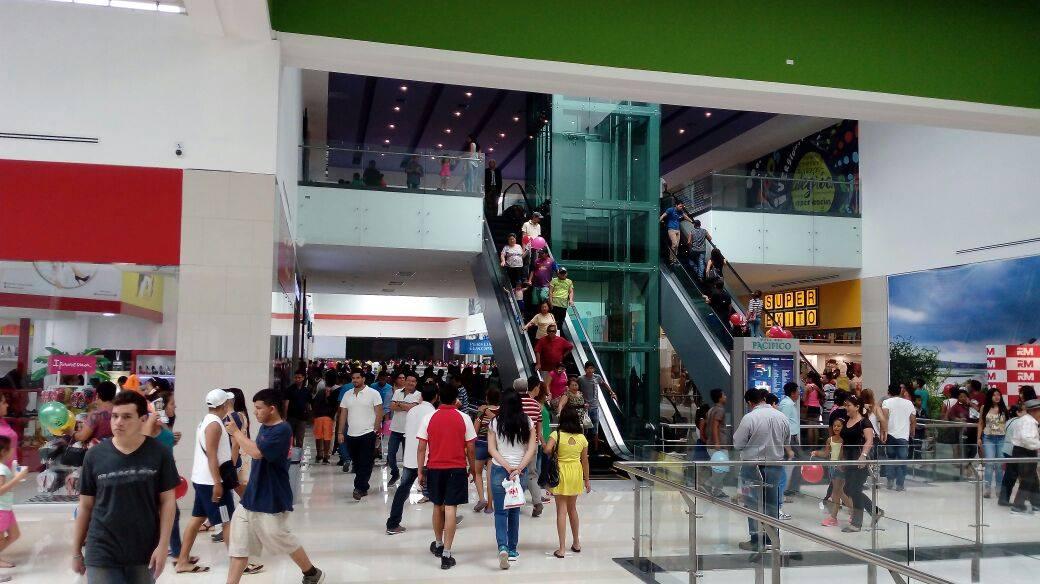 Mall del Pacífico 3 - Más de 70 mil visitantes recibió Mall del Pacífico durante su inauguración en Ecuador