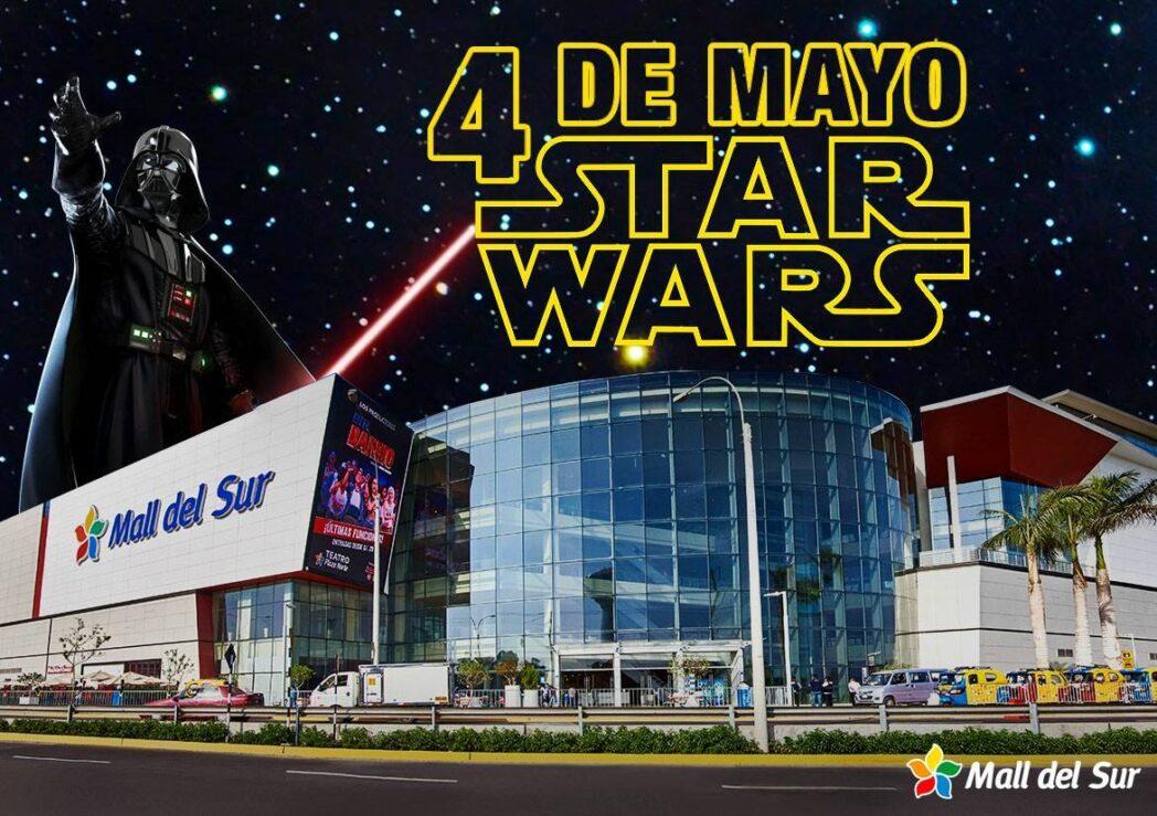 Mall del Sur Star Wars - May the 4th be with you: Celebra el día de Star Wars en Mall del Sur