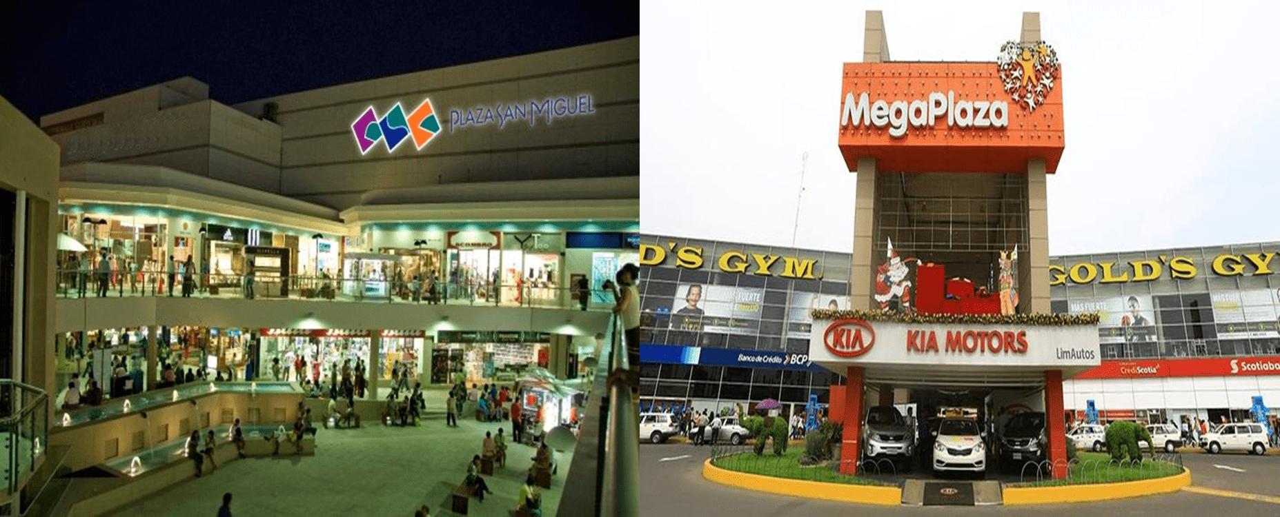 Malls Perú - MegaPlaza y Plaza San Miguel son los centros comerciales con mayor crecimiento de tráfico en tiendas