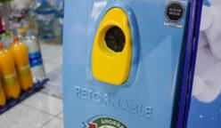 Maquina reciclador 248x144 - Instalan módulos para reciclar botellas de Pepsi y 7up