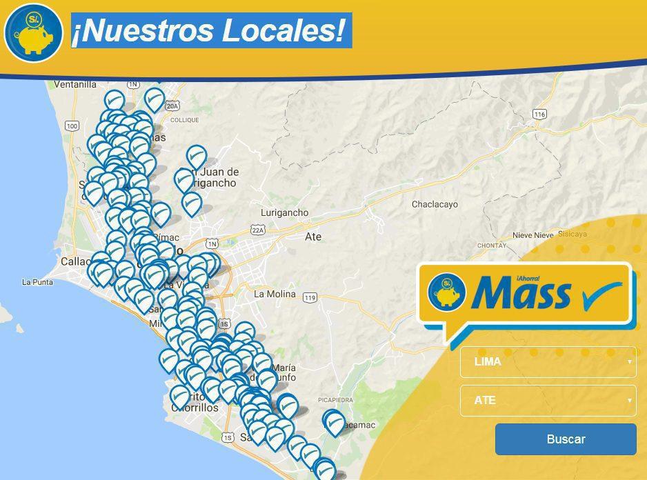 Mass locales Lima - InRetail abrió 102 nuevas tiendas Mass durante el 2017