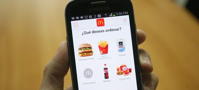 Mc Donald`s no quiere quedarse atrás y prueba apps para atender pedidos