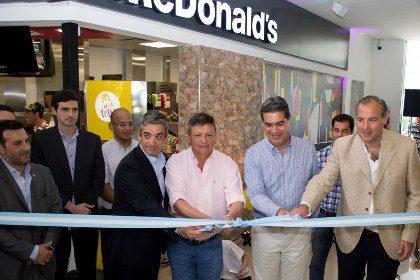McDonald's en Chaco - McDonald's abrió un nuevo local en Argentina