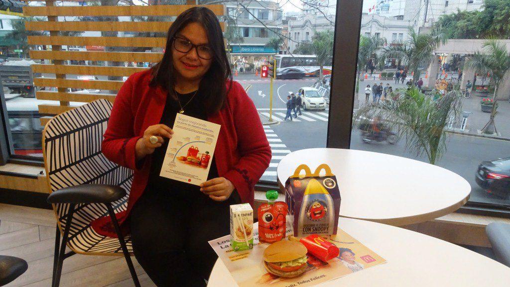 Yusel Jerí, jefa de comunicaciones de McDonald's en Perú