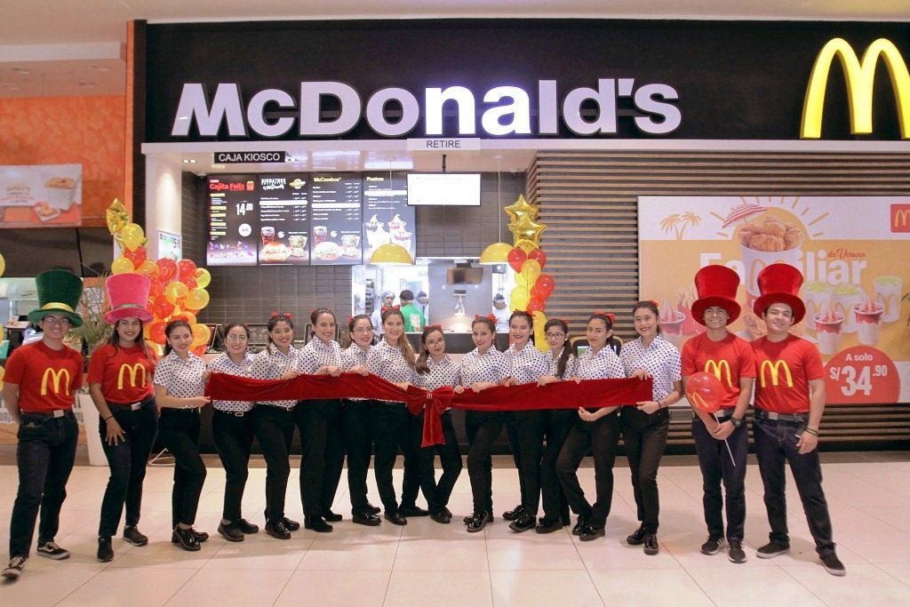 McDonalds Perú
