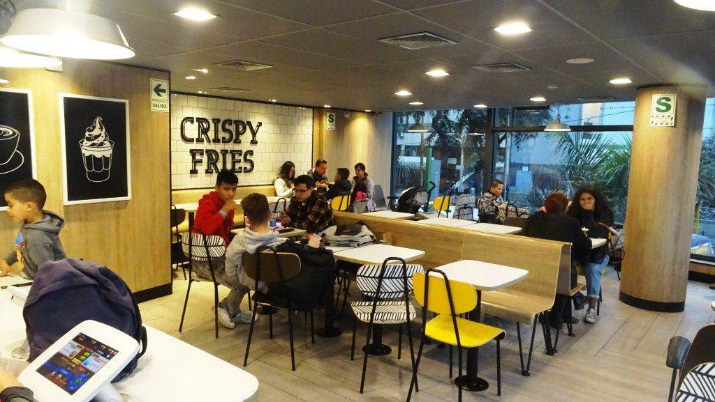 McDonalds5 1 - Perú: McDonald's abrirá dos locales con innovación tecnológica este año