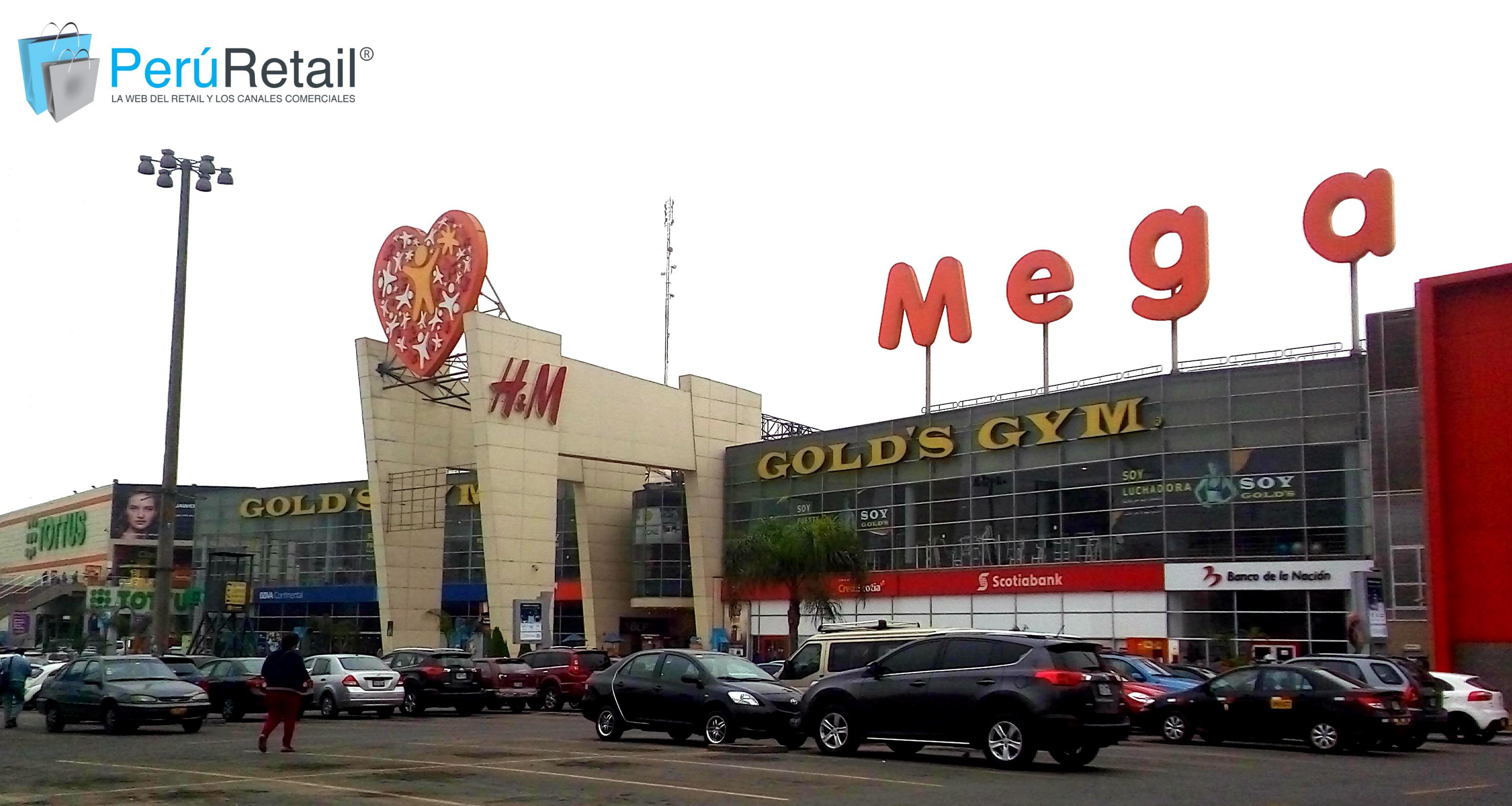 MegaPlaza entrada peru retail - MegaPlaza facturaría S/ 2,500 millones de soles este año