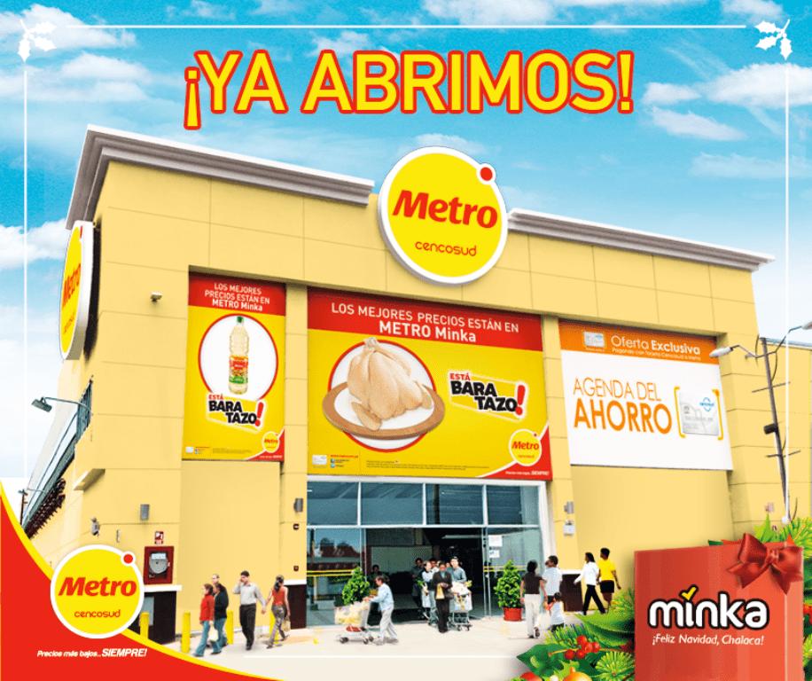 Metro en Minka