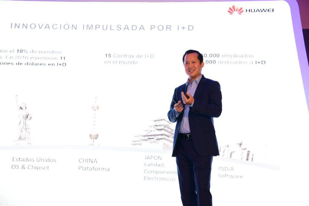 Mike Chang experto en IA HQ Huawei 1024x682 - Huawei es una de las marcas de mayor crecimiento en la región