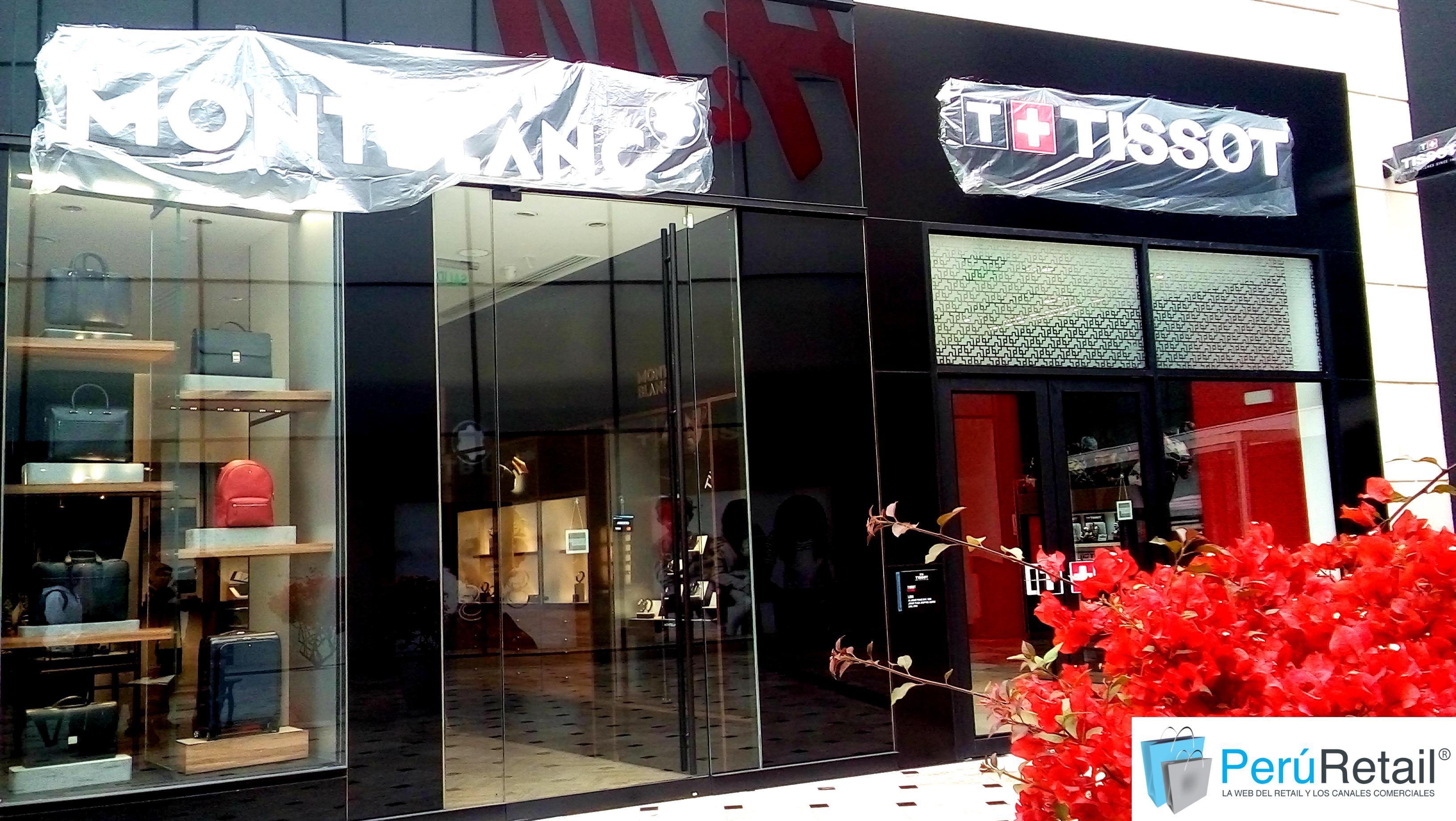 MontBlanc y Tissot 1 Peru Retail - G&G Joyeros invierte US$ 400,000 para abrir Tissot y Montblanc en Perú