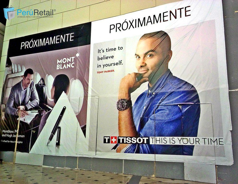 MontBlanc y Tissot Peru Retail 1 - Marcas de lujo Montblanc y Tissot abrirán sus puertas en el Jockey Plaza