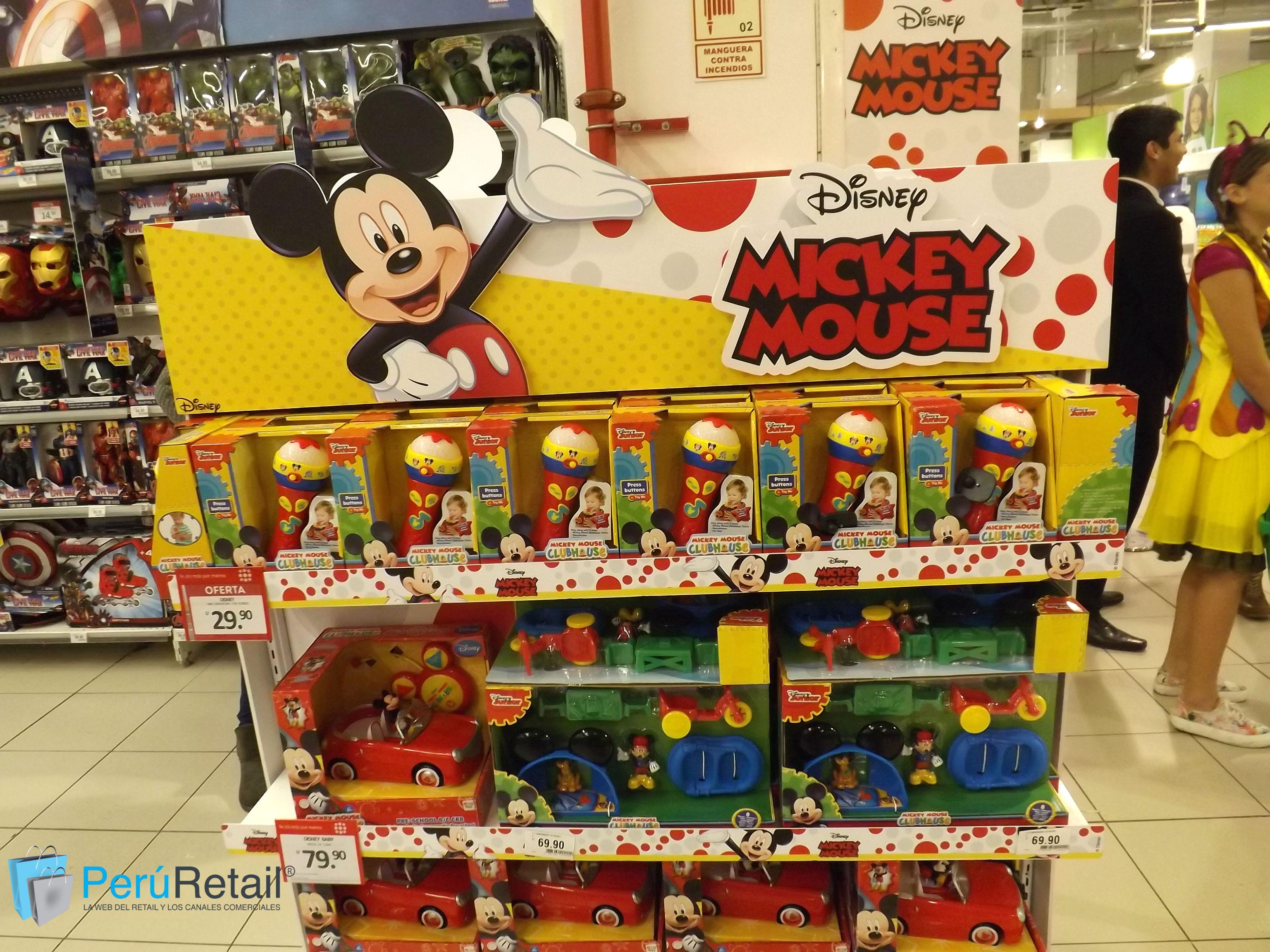 "Mundo Disney 1 - Conozca por dentro la primera tienda ""Mundo Disney"" en Perú"