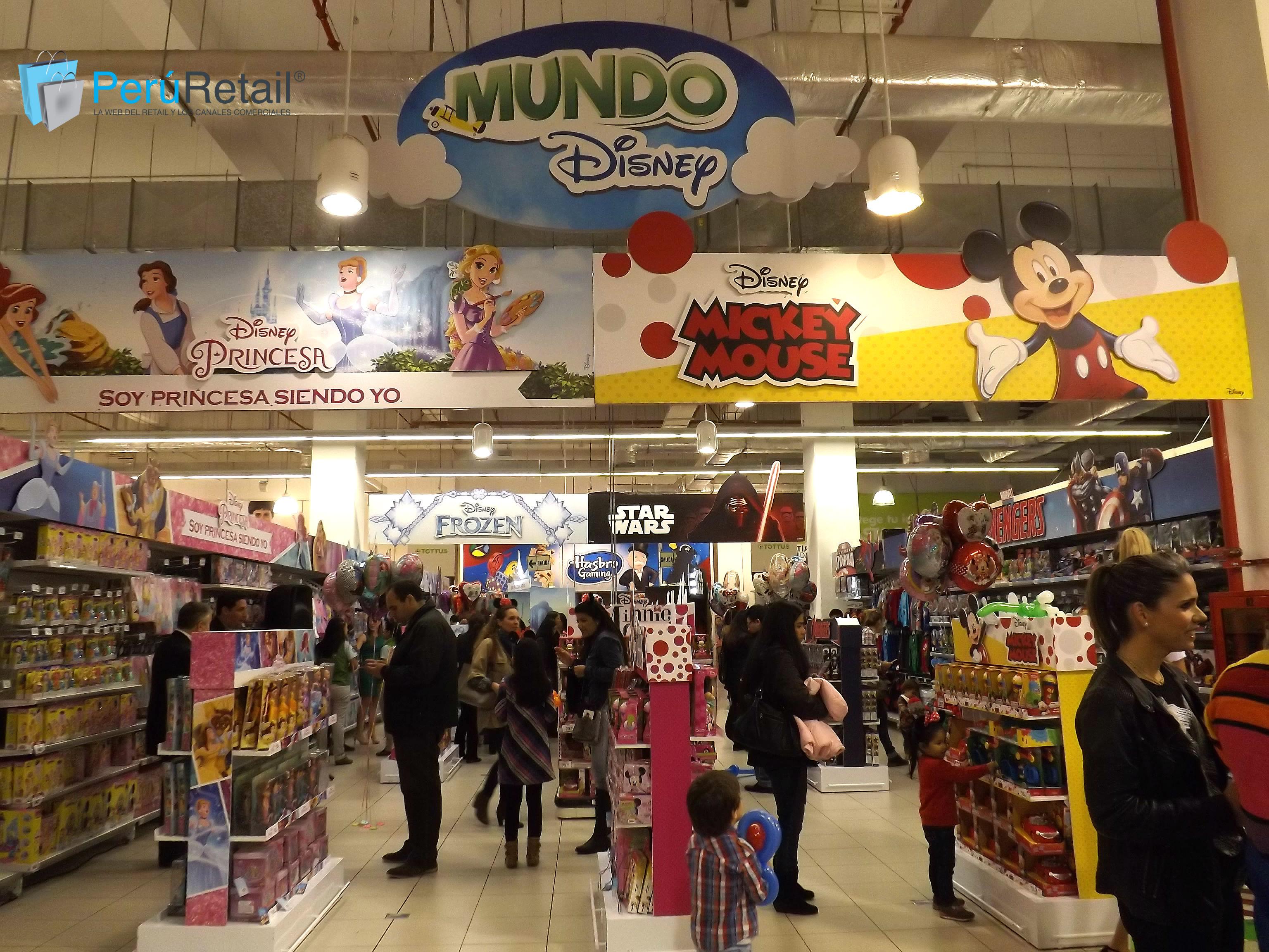 "Mundo Disney 11 - Conozca por dentro la primera tienda ""Mundo Disney"" en Perú"