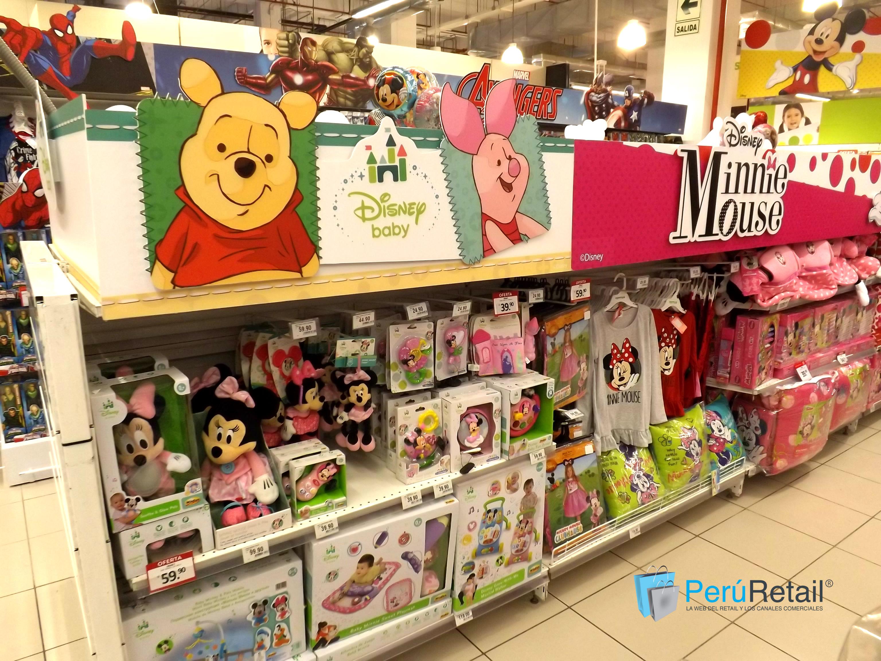 "Mundo Disney 6 - Conozca por dentro la primera tienda ""Mundo Disney"" en Perú"