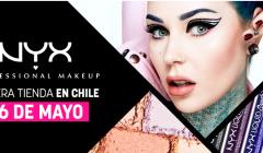 NYX CHILE 240x140 - NYX abrirá su primera tienda en Chile el próximo mes