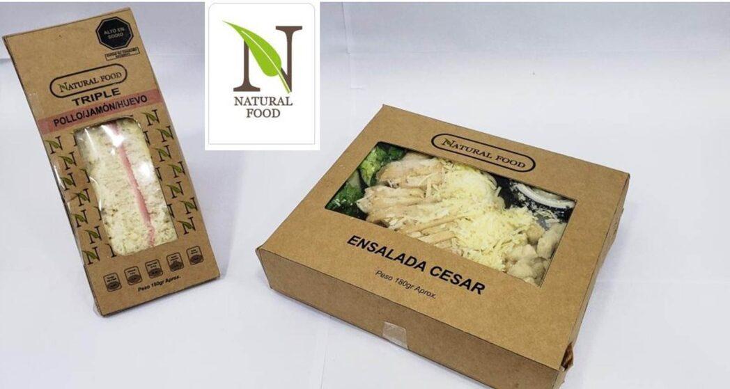 Natural Foods con logo